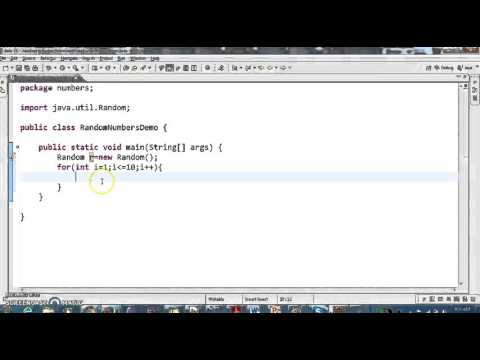 How To Generate Random Numbers In Java