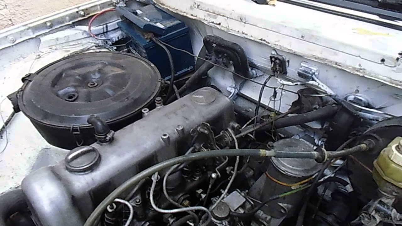 двигатель мерседес ом 615
