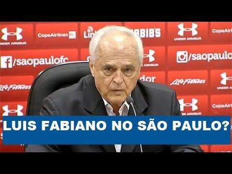 Luis Fabiano pode voltar ao São Paulo? OLHA a resposta do Leco!