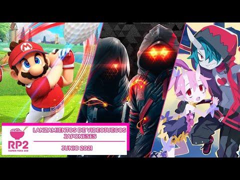 Lanzamientos de videojuegos japoneses: junio 2021