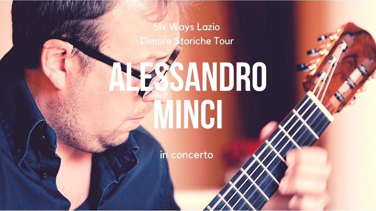 Dimore Storiche Tour 2020 / Alessandro Minci in concerto - Palazzo Latini Collalto Sabino