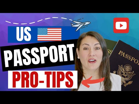 🔵 US PASSPORTS PRO-TIPS 🌐 Everything You Need To Know, & Lost It While Traveling