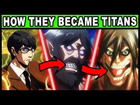 All 9 Titan Shifters and Their Holders Explained! (Attack on