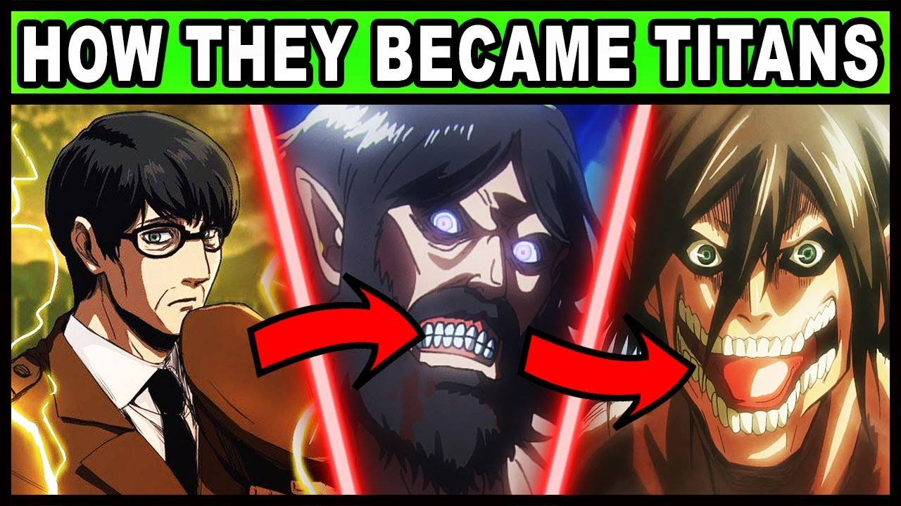 All 9 Titan Shifters And Their Holders Explained Attack On Titan Shingeki No Kyojin Youtube