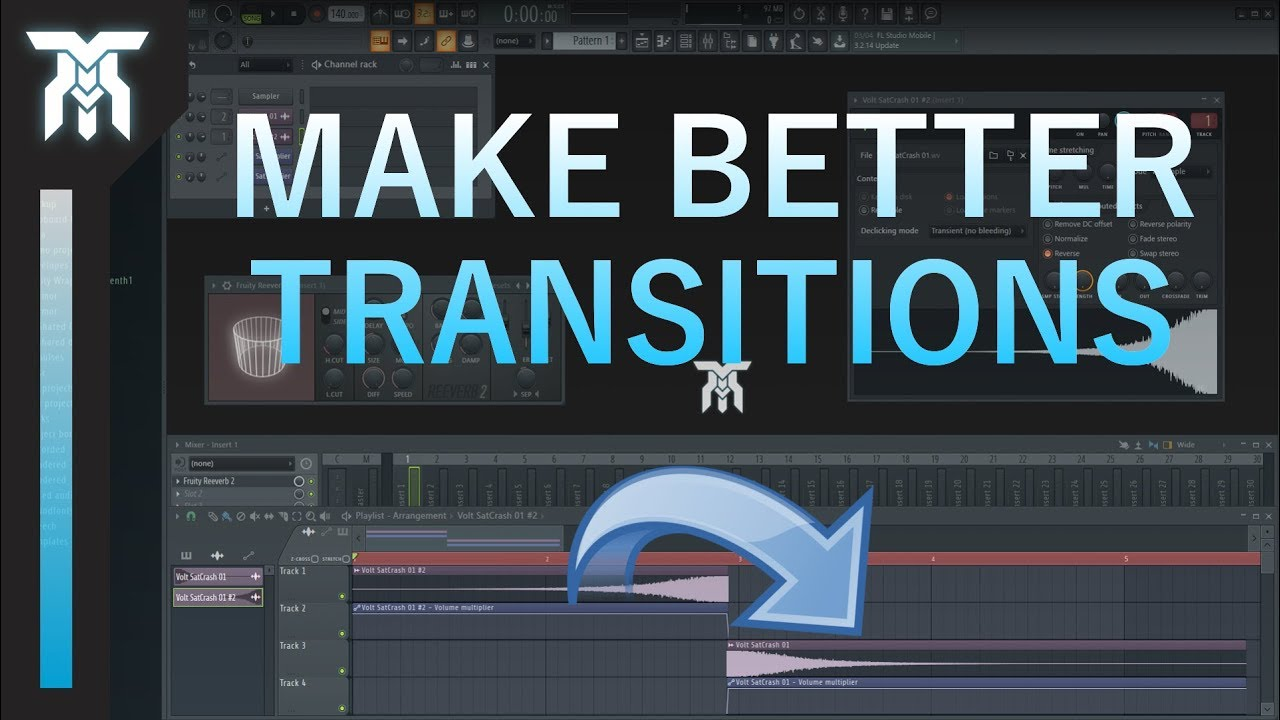 How To Make Music Transitions (Music Production Tutorial)