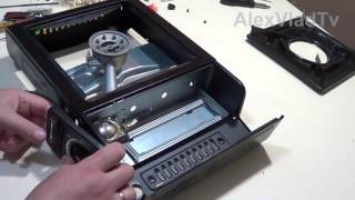Ремонт портативной газовой плиты. Замена пьезоэлемента. Portable gas stove repair.