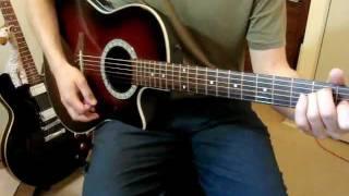 La Ley / Mentira (unplugged) / Guitar Cover