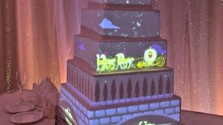 Interactive wedding cake projection mapped from Disney Fairytale Weddings thumbnail