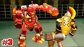 "НОВЫЙ РОБОТ!!! ""BIO WAR"" Real Steel World Robot Boxing (ЖИВАЯ СТАЛЬ) (3 серия)"