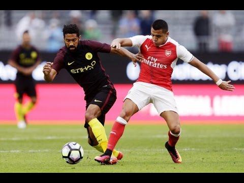Alexis Sanchez vs Manchester City (Neutral) Pre-Season Match (07/08/2016)