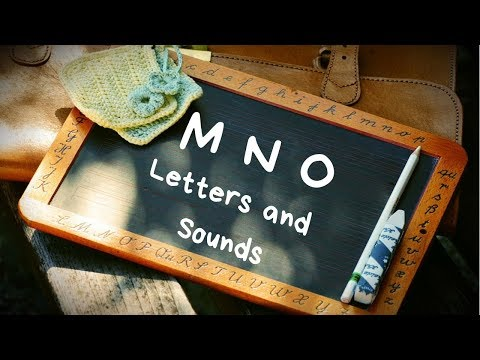 Phonics 1 CH5 (Letters M, N and O words and sounds) English Lesson