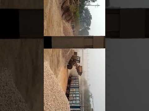 Our Quartzite Rake Loading at Chipurupalli Railway Siding