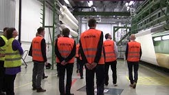 Highlights of the site visit to Fabrics business unit in Tampere