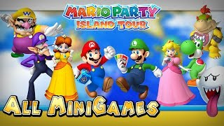 Mario Party Island Tour - All Mini-Games