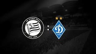 Spielaufzeichnung: Sturm Graz 2:0 Dynamo Kiew (1:0)