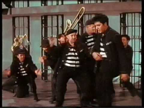 Elvis Presley - Jailhouse Rock (COLOR and ORIGINAL TRUE STEREO) - Jailhouse Rock Movie