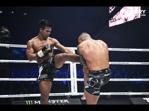 GLORY 59: Robin van Roosmalen vs. Petchpanomrung (Featherweight Title Bout) - Full Fight