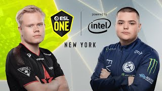 CS:GO - Astralis vs. Evil Geniuses [Dust2] Map 1 - Group B - ESL One New York 2019