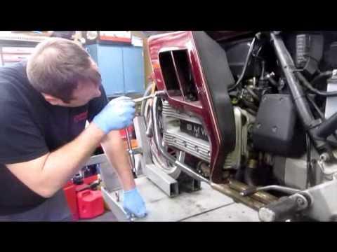BMW Service - BMW K100 'Spline Lube' Part 1 of 6