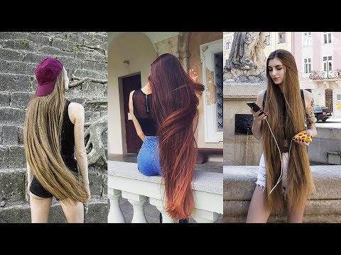 The Most Beautiful Extremely Long Hair Girls of Internet