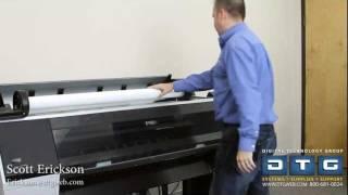 Setup video for new epson printers 7700 7900 7890 9700 9890 9900