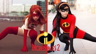 The Incredibles 2 Characters In Real Life 2018_Cartoon Discoveries