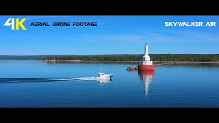 True 4K Drone Footage by Skywalker Air - Returning Home