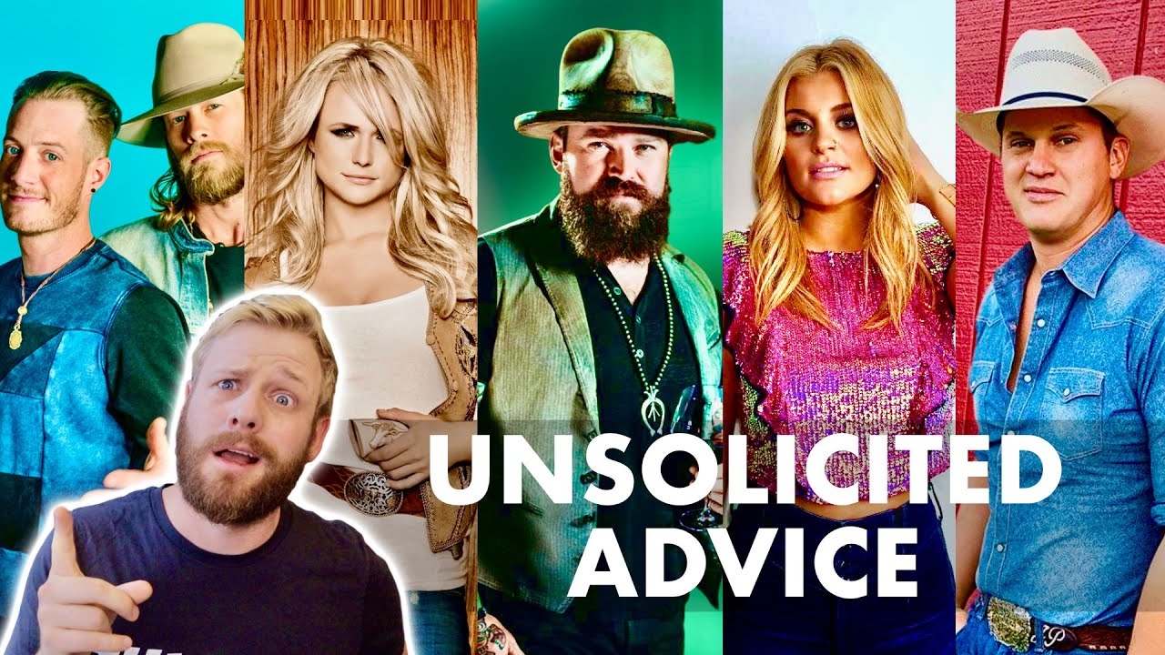 Giving Country Stars Advice They Didn't Ask For