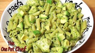 Creamy Chicken Pesto Pasta - Recipe