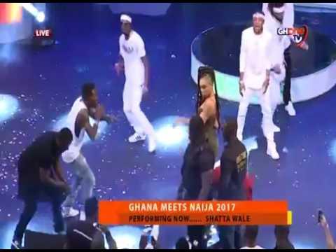 SHATTA WALE FULL PERFORMANCE  AT GHANA MEETS NAIJA 2017
