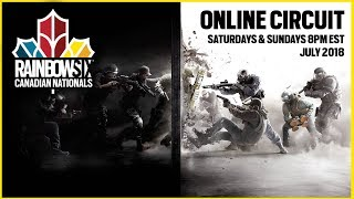 Rainbow Six Siege: LIVESTREAM Canadian Nationals Online Circuit | Week 3 - Day 1 | Ubisoft [NA]