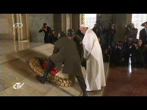 Visite du Pape François au Mausolée d'Atatürk