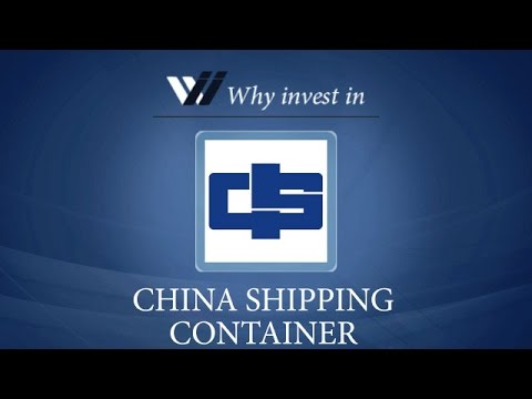 China Shipping Container - Why invest in 2015