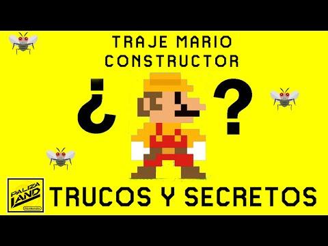 Trucos y Secretos SUPER MARIO MAKER - Como conseguir el traje Mario Constructor