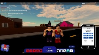 ROBLOX-Almost 1 hours of video (Rocitizens) #4/part. Amanda (Halloween Special)