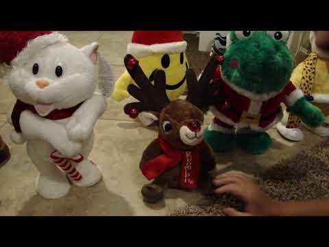 2017 Gemmy Christmas Animatronics Part 1