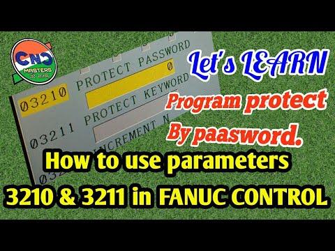 Fanuc parameters 9000