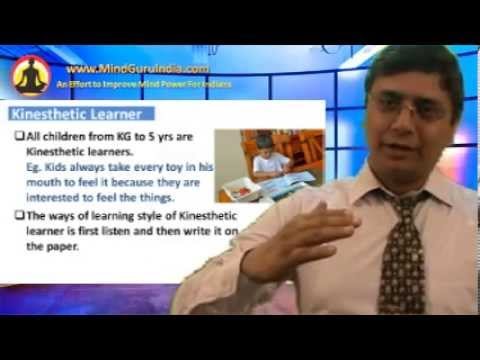 Parenting Hindi 03 - 3 Types Of Learning Styles (3 तरीके के बच्चे) - Sanjiv Malik