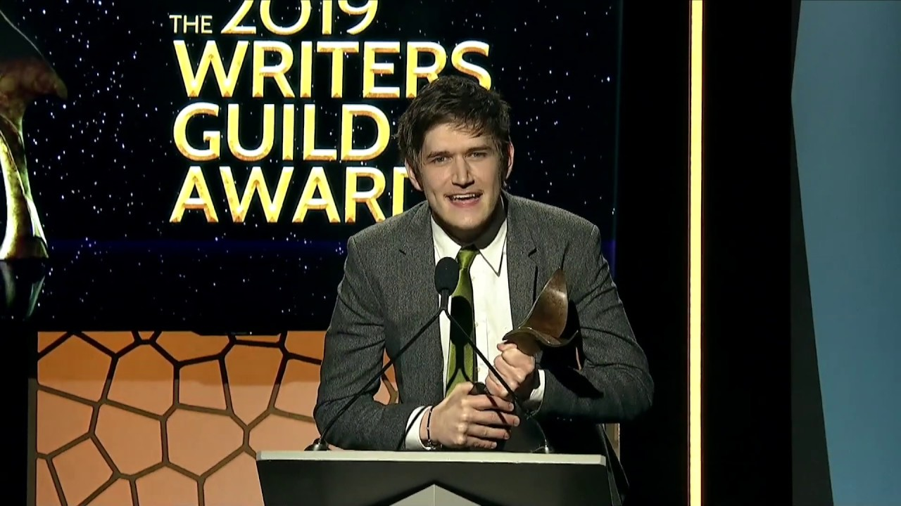 Image result for bo burnham  writers guild awards images