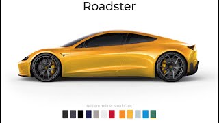 The Tesla Roadster will start at $200,000- my dream car-