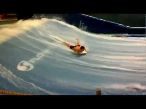 Keith Welborn Kalahari Body Boarding on Surf Continuous Wave Feb 2013