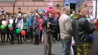 Демонстрация 9 мая 2017 г  Гомель, Беларусь