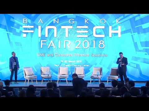 "Ripple at Bangkok Fintech Fair 2018  ""We're working with 40 or 50 central banks across the globe"""