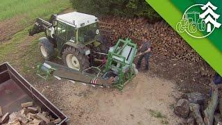 Repeat youtube video Holz sägen mit Trommelsäge (KTS 700) und Hürlimann H - 306 - XE