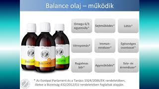 Mit tehet értünk a Balance olaj?