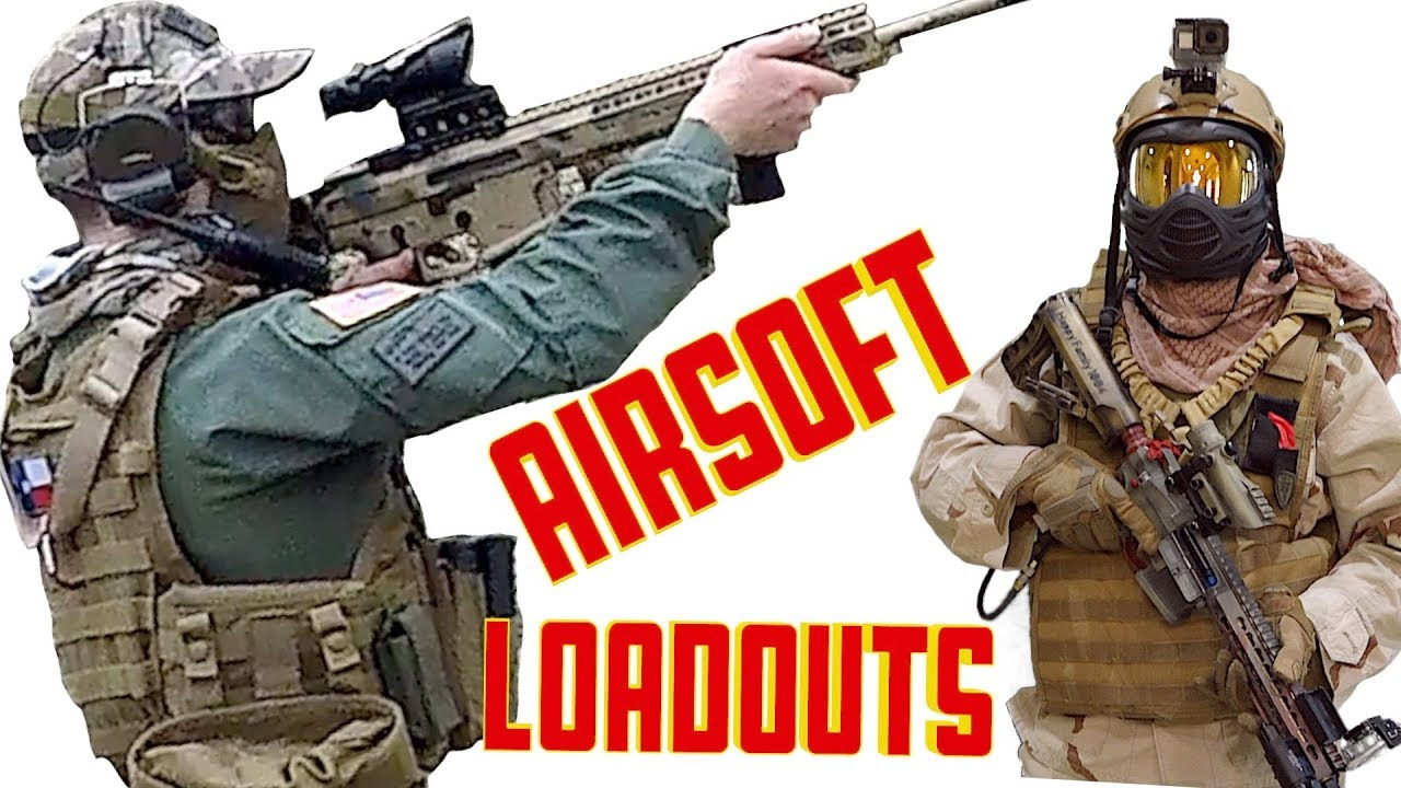 Flambant neuf Airsoft Loadouts, Mystery Patches, Game Play and Patch Wall. - YouTube UE62