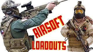 Airsoft Loadouts, Mystery Patches, Game Play and Patch Wall.