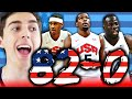 82-0 CHALLENGE - 2016 TEAM USA BASKETBALL! NBA 2K16 MY LEAGUE