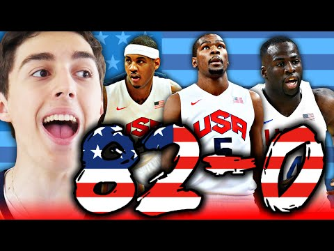 82-0 CHALLENGE - 2016 TEAM USA BASKETBALL! NBA 2K16 MY LEAGUE