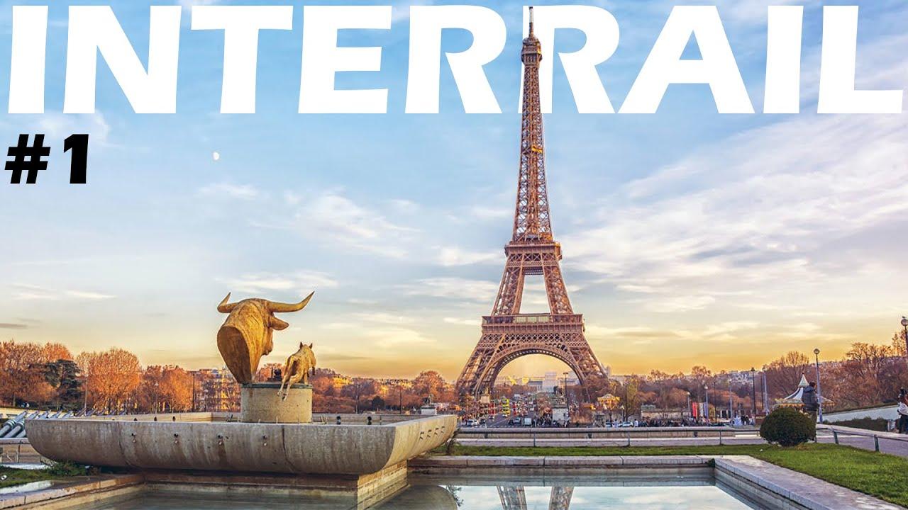 Strasburgo e Parigi - Interrail Vlog #1